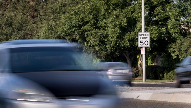 Visalia motorists should be on the lookout for newly posted speed limits through the city. A stretch of Ben Maddox between K Road and Caldwell Avenue is being reduced from 50 to 45 MPH.