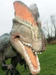 Dinosaurs will proudly call Bergen County's Overpeck Park its new home.