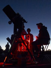 Visitors can explore the wonders of the night sky during