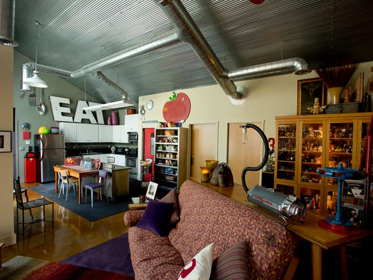 Provo's home is filled with her creative spirit.
