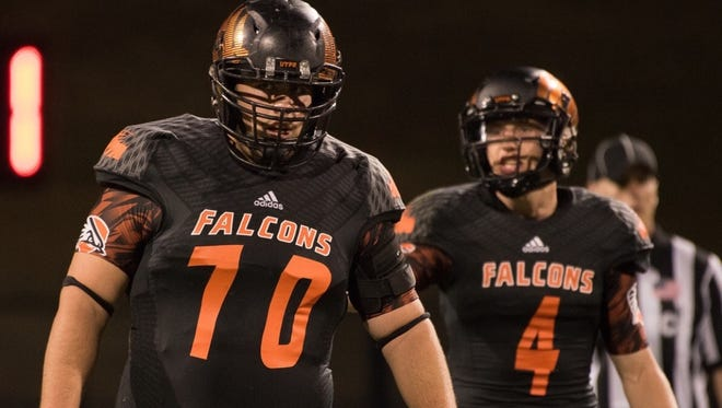 Carroll grad Hunter Bowers has made the move to left tackle for the UT-Permian Basin football team.