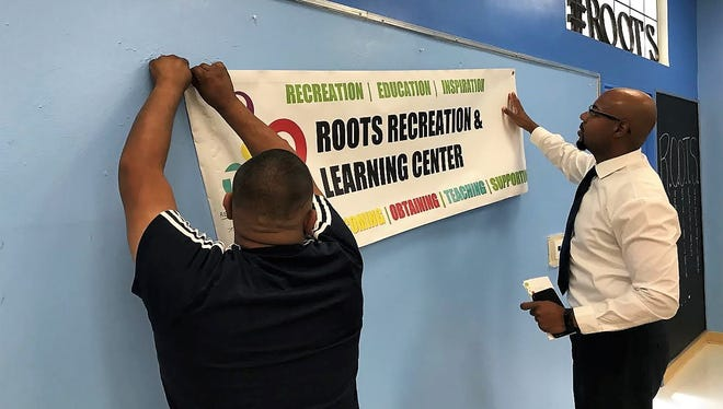 Roots Recreation and Learning Center hosts an open house in Glendale Community Center in July 2018.