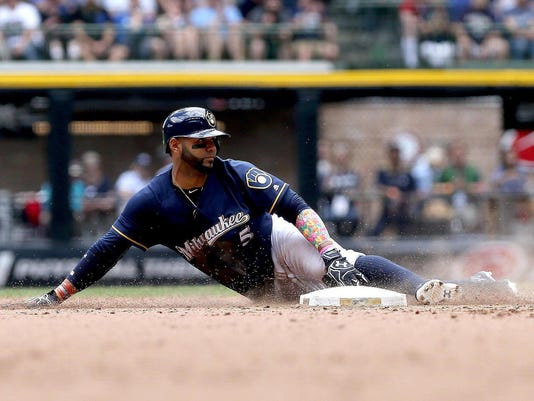 Brewers stealing