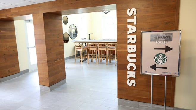 A Starbucks recently opened at the newly renovated Norman Hall at the University of Florida College of Education. Plans have resurfaced for a 2018 proposed commercial development in Suburban Heights, which called for a Starbucks, restaurant and drive-throughbank.