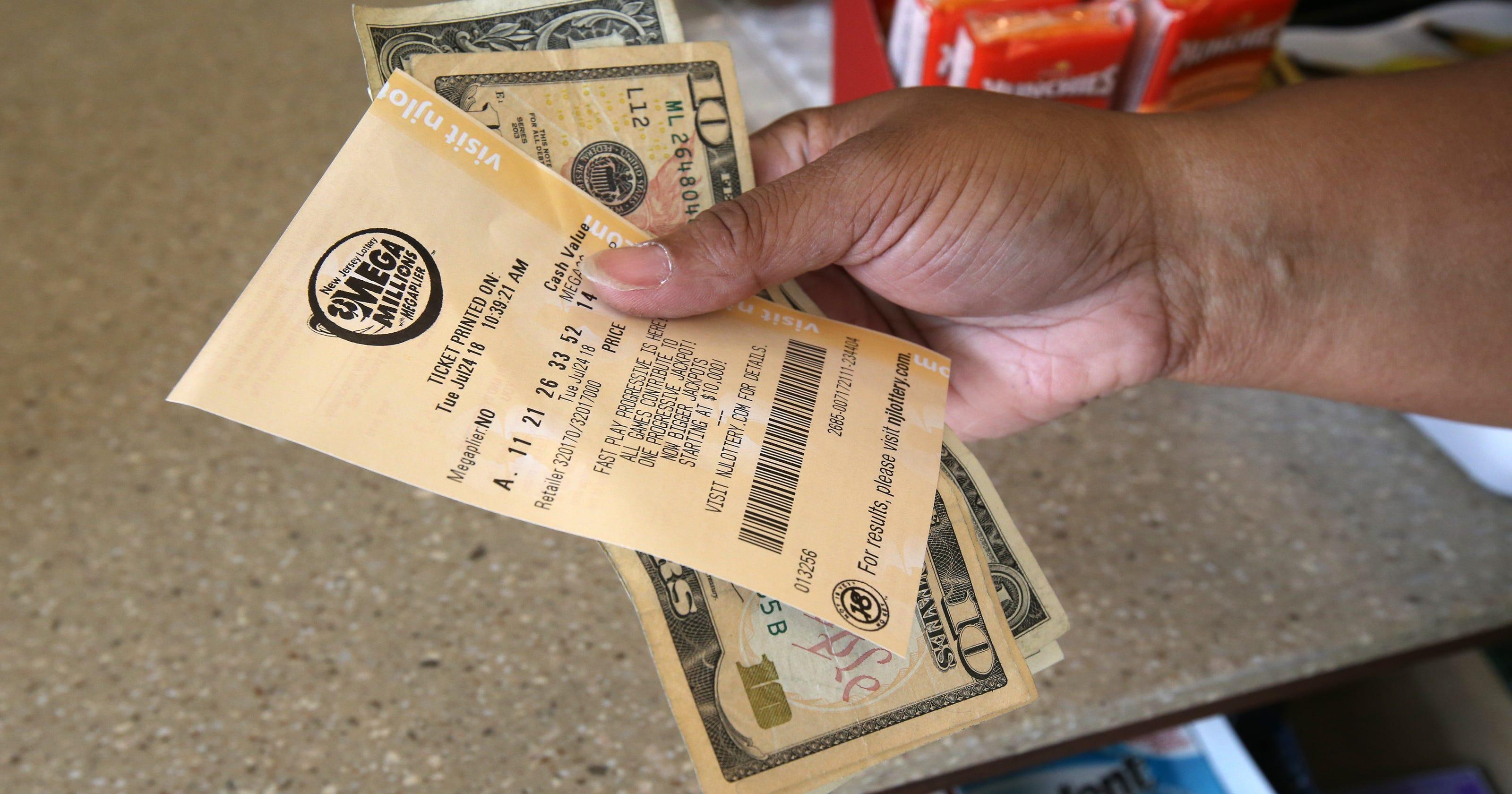 Mega Millions Winning Numbers Ticket Sold In Jackson In Nj Lottery