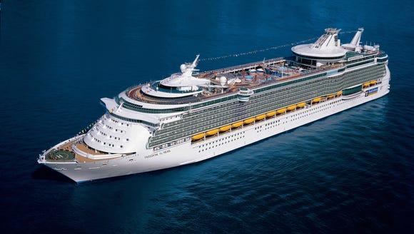 Royal Caribbean's Freedom of the Seas.