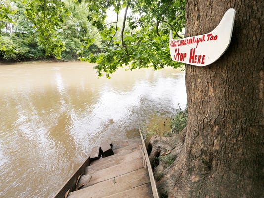 LAF Thunderstorms mean danger after 20+ kayakers rescued on Wildcat Creek