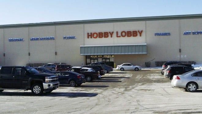 Sheboygan's Hobby Lobby will close in mid-January.