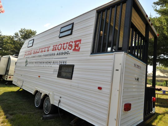 Wood County Fire Chief's old fire safety house is on