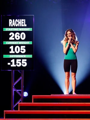 Rachel Frederickson loses 155 pounds to be crowned 'The Biggest Loser' of Season 15.