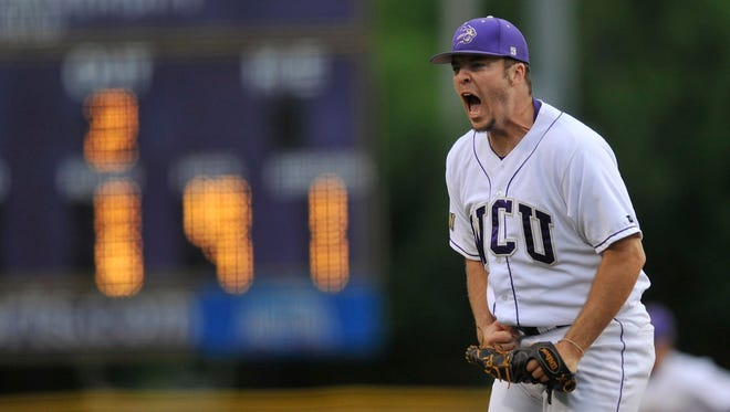 Reynolds alum T.J. Fussell was the winning pitcher Thursday night in Cullowhee.