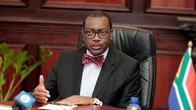Akin Adesina is the president of the African Development Bank.