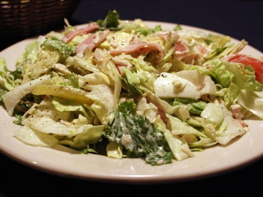 The Maurice salad was a famous staple at the restaurant in Hudson's downtown Detroit department store. Even though the store