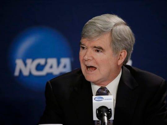 NCAA Mark Emmert Final Four Basketball