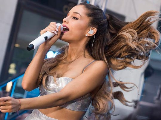 Ariana Grande Performs On The Today Show