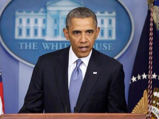 APTOPIX Obama Ukraine
