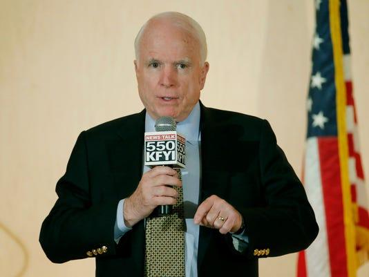 John McCain town hall
