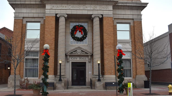 Adrian City Hall, pictured Jan. 5, 2020, will be closed until at least Nov. 23 after a city hall employee tested positive for COVID-19.