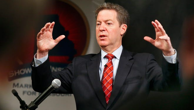 Kansas Gov. Sam Brownback's office told The Wichita Eagle that it would have to pay $1,235 to obtain records of e-mail and phone conversations between his office and a former chief of staff who is now a prominent Statehouse lobbyist.