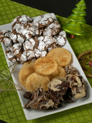 In some families, baking cookies together is part of their holiday tradition.