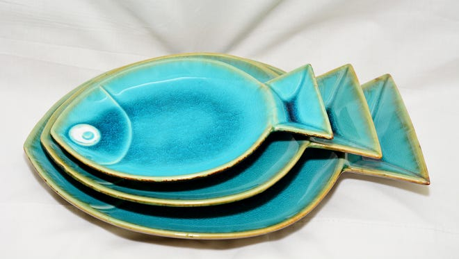Crestview Collection plates, $8, $10 and $14 at Fine Things.