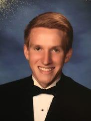 Cameron Jones, a senior at Lake Forest High School,
