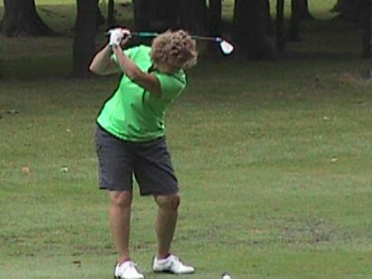 Kathy Stellema of Wayne won low-net and closest-to-the-pin