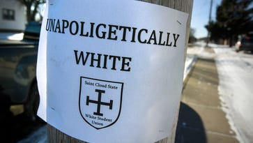 'Unapologetically white' posters displayed in St. Joseph