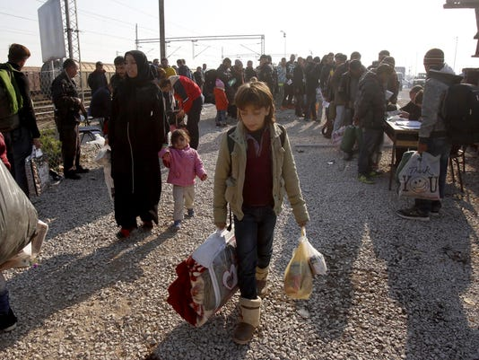 Macedonia Migrants_Klin