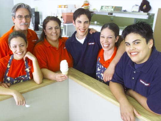 Six members of the Hall family work and own a Tastee