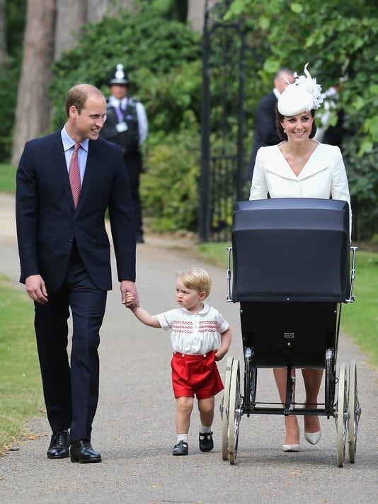Charlotte christening walk