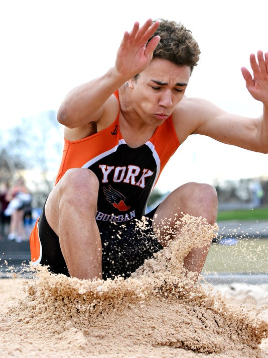 York Suburban High School vs Kennard-Dale High School Track & Field