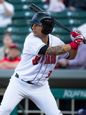 The Indianapolis Indians' Danny Ortiz was named the International League Batter of the Week.