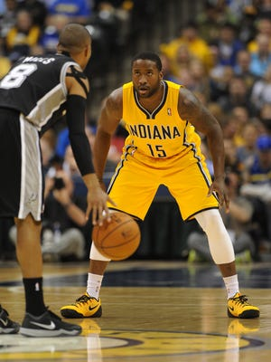 Donald Sloan will start the Pacers' season opener Wednesday night.