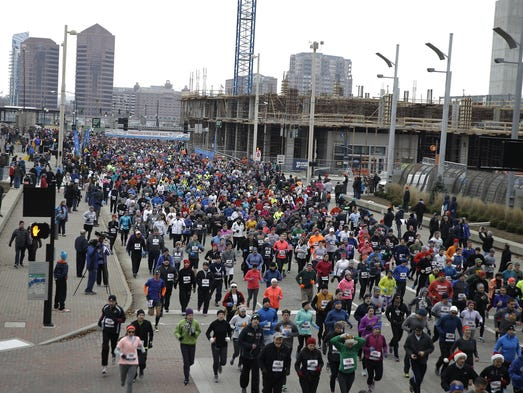 Thousands of runners  participated.