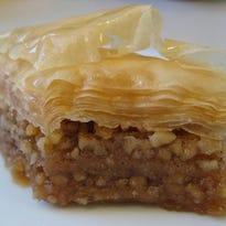 Greek pastry sale now taking orders