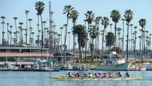 Try outrigging Sunday in Ventura.