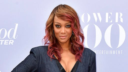 "FILE - In this Dec. 9, 2015 file photo, Tyra Banks attends The Hollywood Reporter's Women in Entertainment Breakfast in Los Angeles. VH1 announced Thursday, March 16, 2017, that Banks will return to host the reality show, ""America's Next Top Model,"" next season. Production is set to begin this summer."