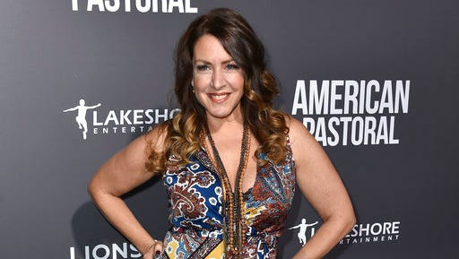 """FILE - In this Oct. 13, 2016 file photo, actress Joely Fisher arrives at a special screening of """"American Pastoral"""" in Beverly Hills, Calif. William Morrow, an imprint of HarperCollins Publishers said Thursday, April 27, 2017, that it had acquired her memoir """"Growing Up Fisher"""" and would release it November 14."""