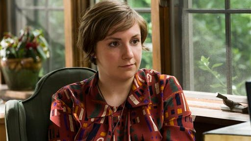 """This image released by HBO shows Lena Dunham in a scene from """"Girls."""""""
