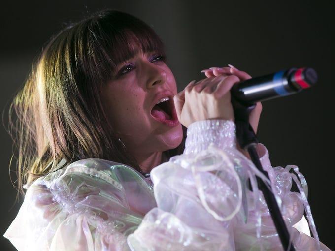 Charli XCX performs at FORM Arcosanti on Sun. May 13,