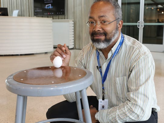 Marc Taylor, manager of planetarium and science programs