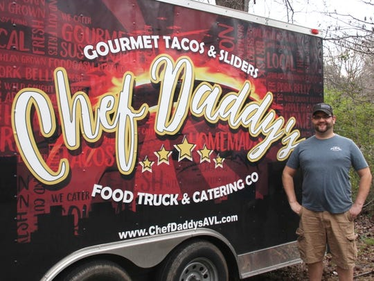 Wesley Wright and his food truck.