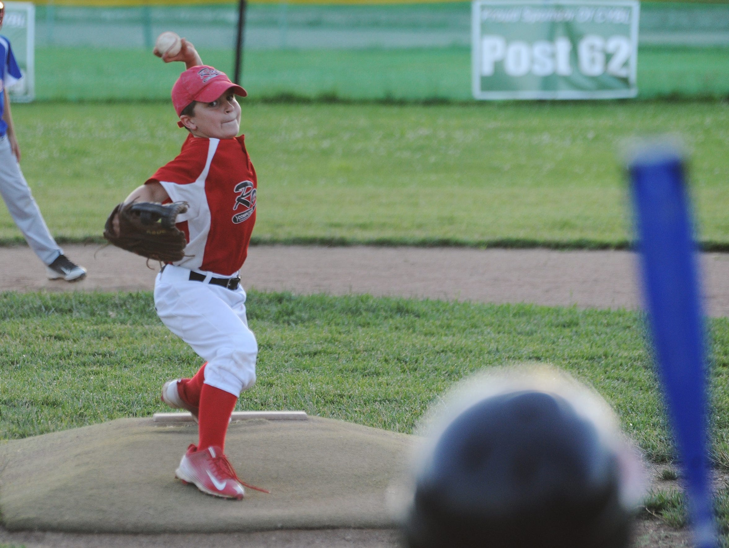 Austin Magill pitches during a game Tuesday, June 7,