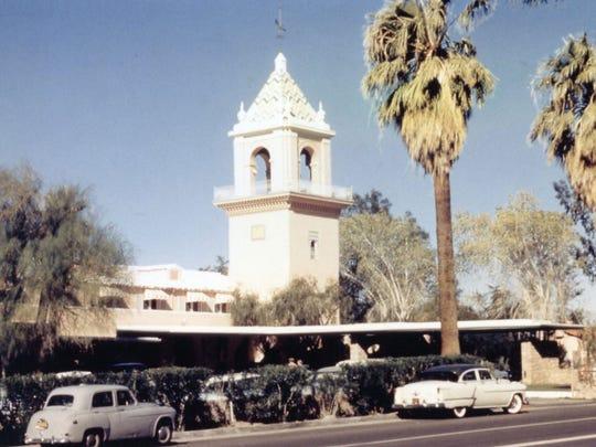 El Mirador Hotel c. 1952.