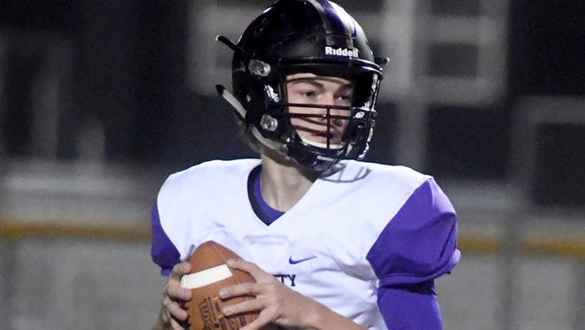 Trinity Christian's Matt Spurgeon took over the role as starting quarterback his junior season and threw for 1,435 yards and 18 touchdowns.
