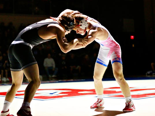 South Western vs Spring Grove wrestling