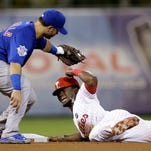 Mistakes cost Cubs in 7-5 loss to Phillies