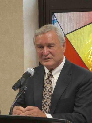 The Corning Rotary Club honored Jack Benjamin, naming him a Paul Harris Fellow at its Oct. 1 meeting.
