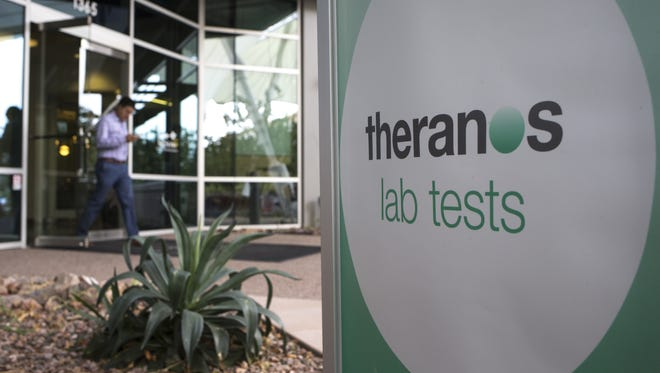 Theranos, a privately-held company, was once valued at $9 billion based on investor hopes that the company's proprietary finger-prick technology would revolutionize the lab-testing business.